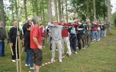 Une journée conviviale de tir à l'arc à l'île d'Ager