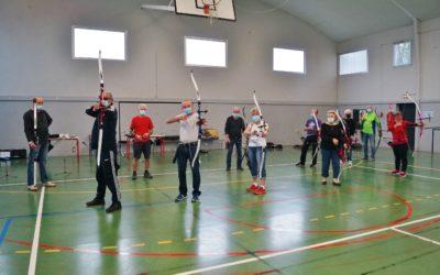 Les archers reprennent masqués